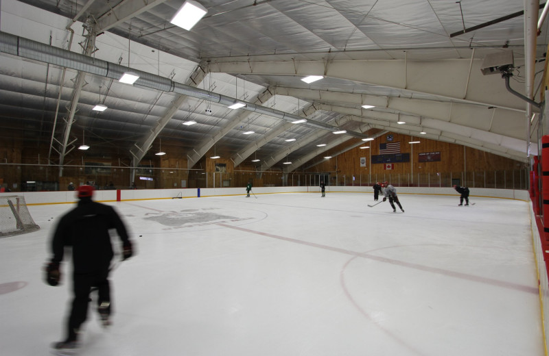 Ice hockey at Waterville Valley Resort Association.
