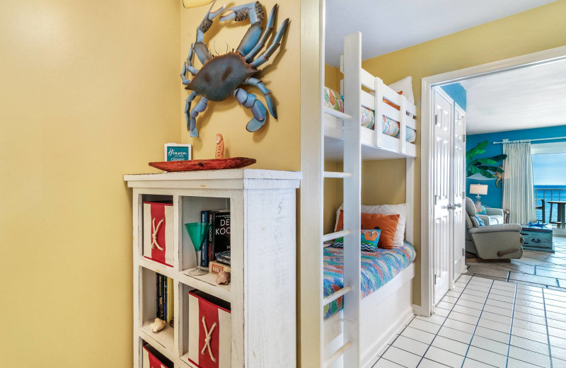Rental interior at Bender Realty Vacation Rentals.