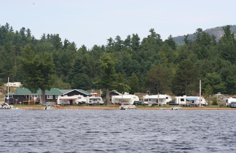 Lakeside Camping at Douglas Resort