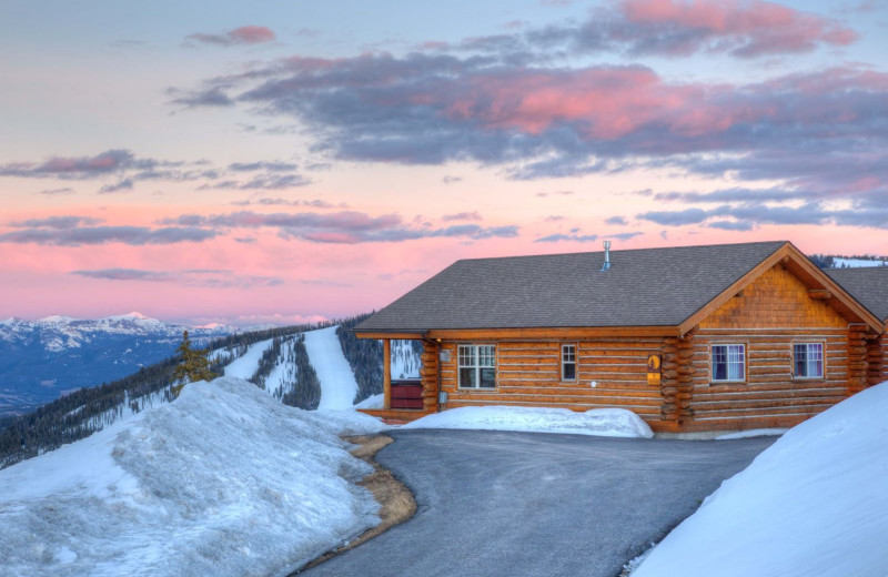 Rental exterior at Moonlight Rentals in Big Sky.