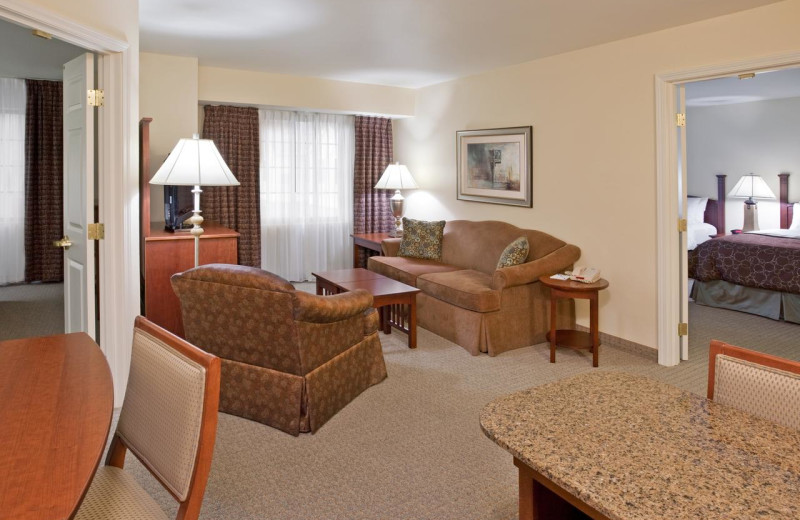 Guest room at Staybridge Suites - Stow.