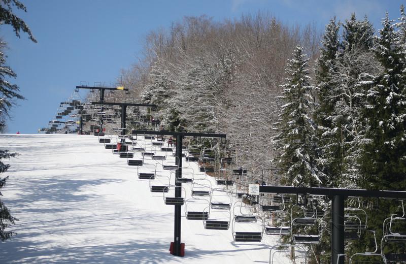 Skiing near Fairway Suites.