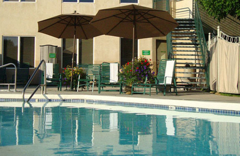 Pool Area at Broadway Inn and Conference Center