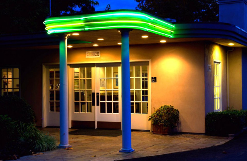 Office at El Bonita Motel