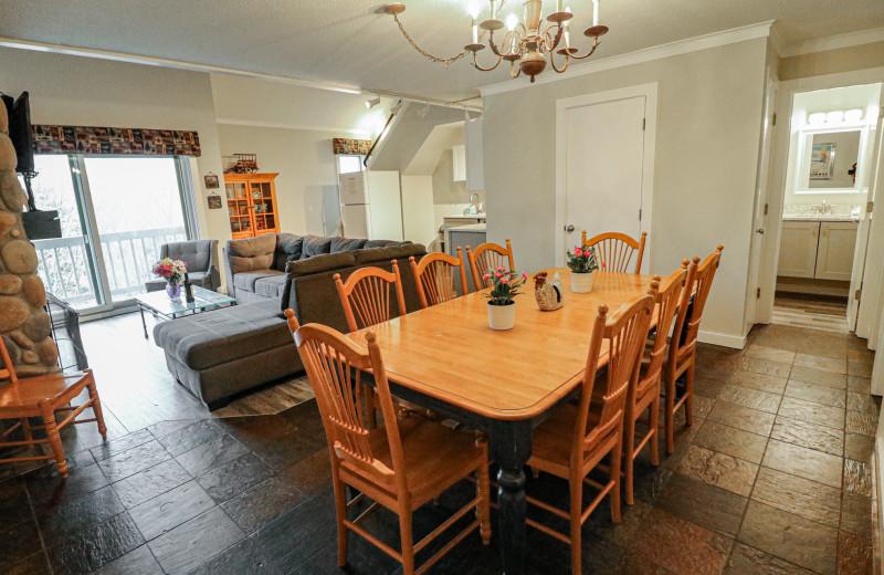 Rental interior at Killington Rental Associates.