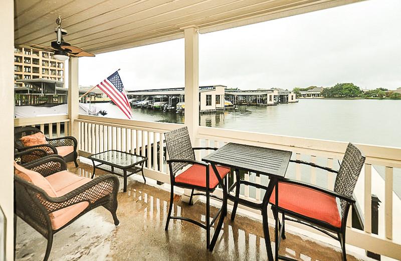 Rental balcony at All Seasons Accommodations, Inc.