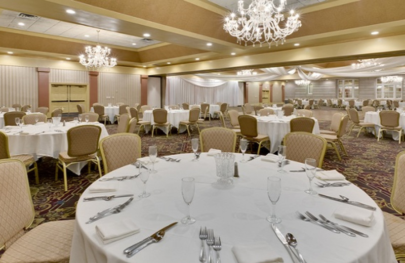 Banquet Hall at the Radisson Lackawanna Station Hotel Scranton