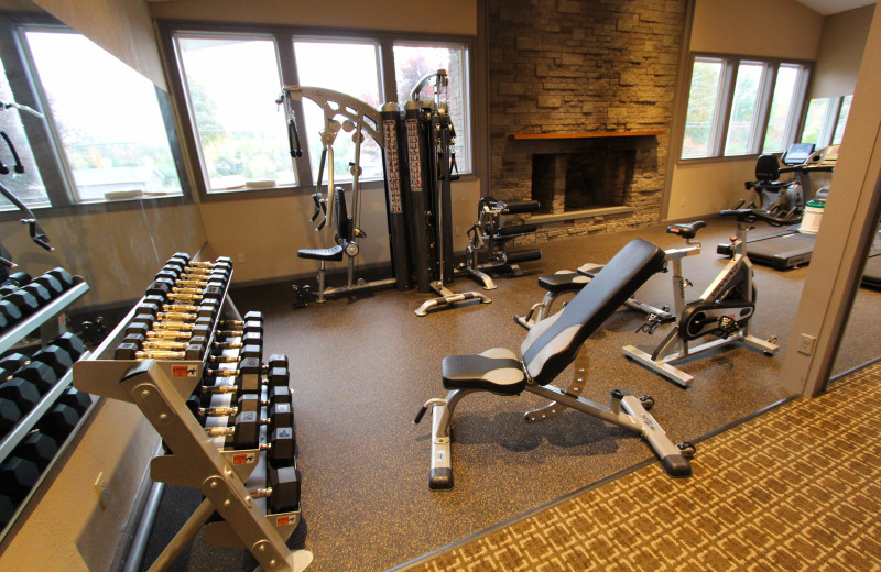 Fitness room at The Sullivan.