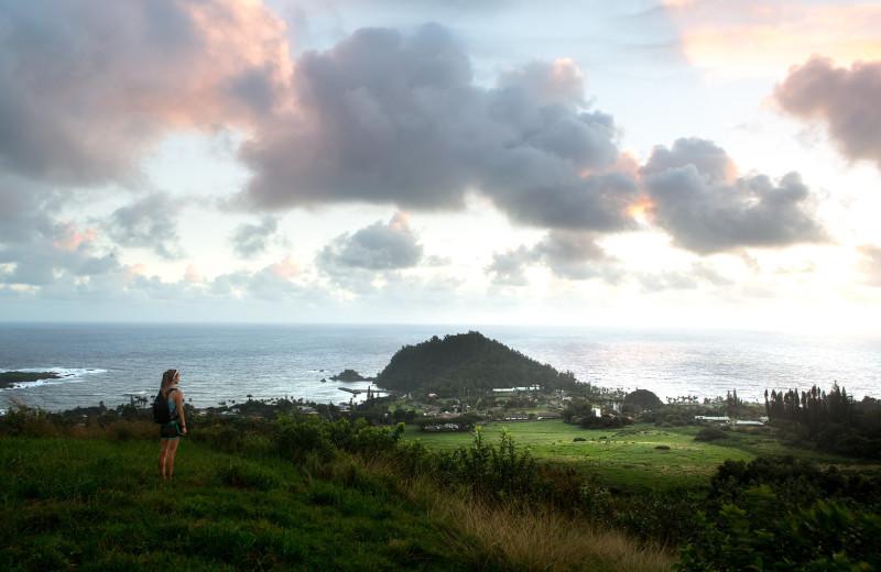 Island view at Travaasa Hana.