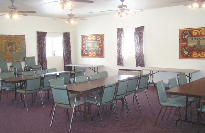 Conference room at Basswood Country Resort.