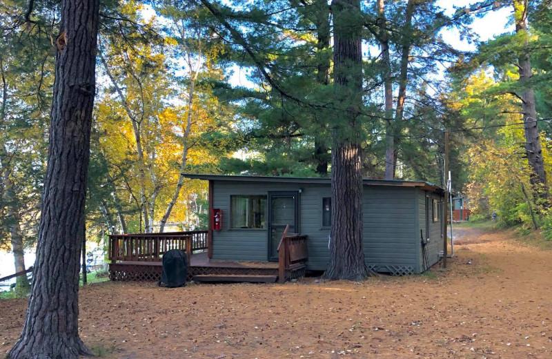 Cabin at Moore Springs Resort.