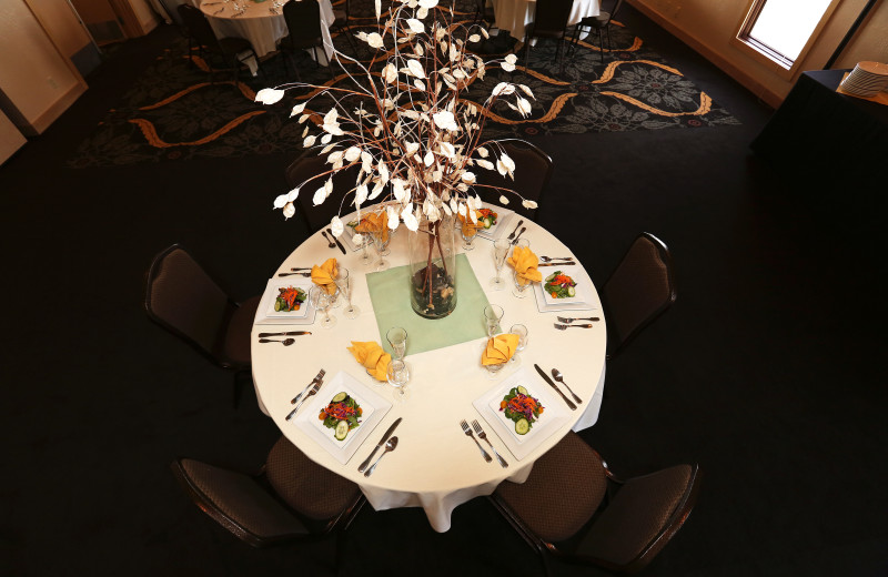 Dining at Driftwood Shores Resort and Conference Center.