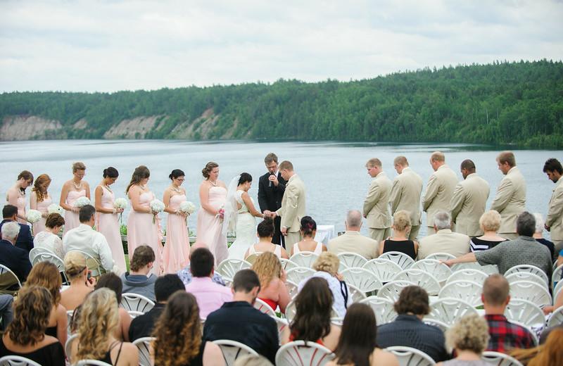 Wedding at The Lodge at Giants Ridge.