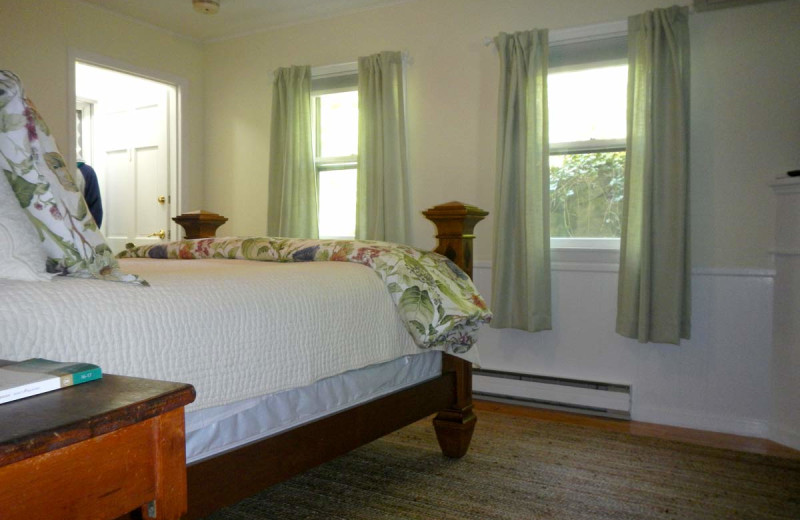 Guest room at Birchwood Inn.