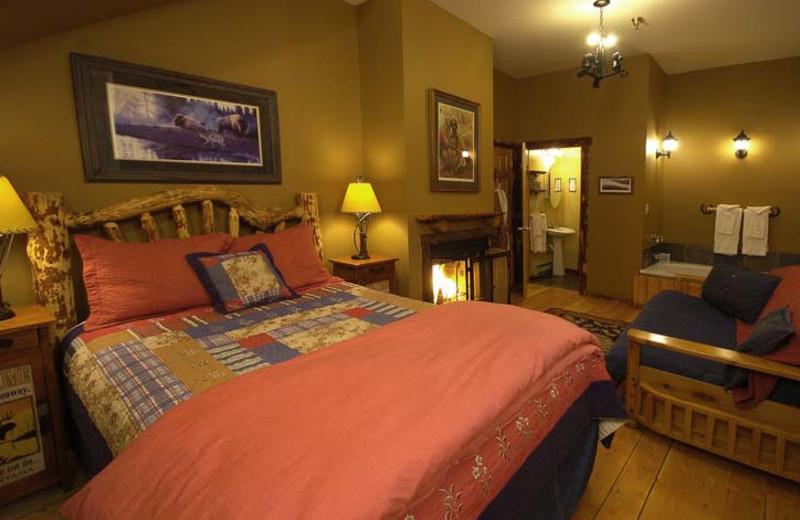 The Yellowstone room at Bar N Ranch.