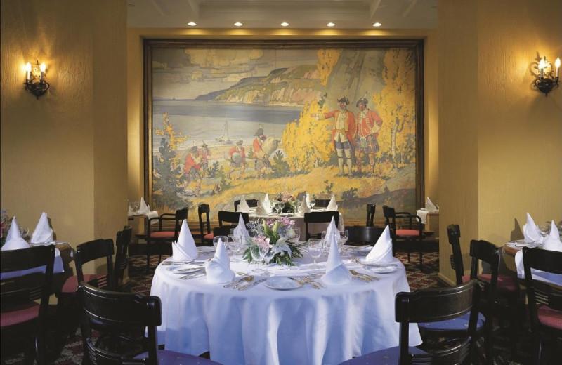 Meetings at Fairmont Le Manoir Richelieu.