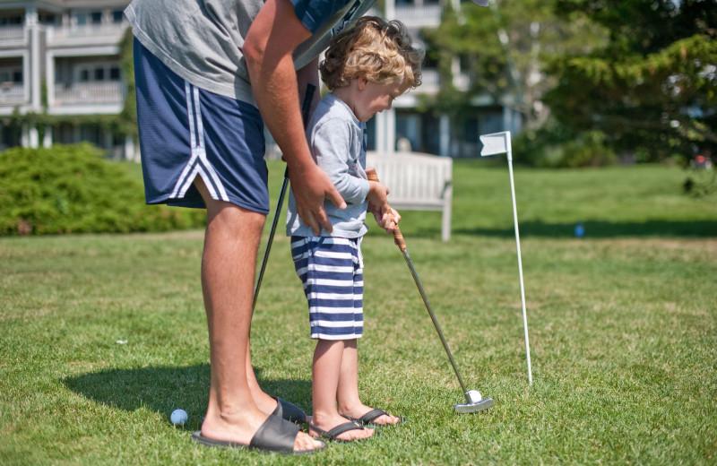 Golf at Winnetu Oceanside Resort.