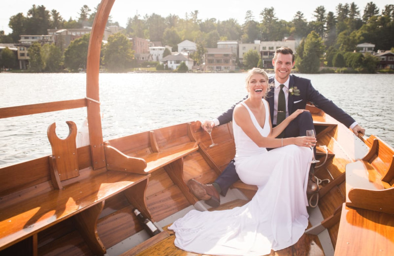 Weddings at Golden Arrow Lakeside Resort.