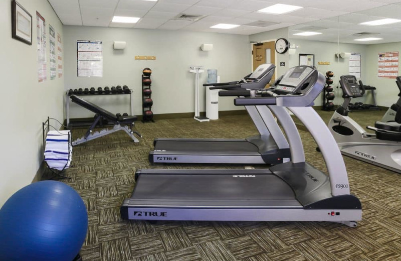 Fitness room at Staybridge Suites Naples-Gulf Coast.