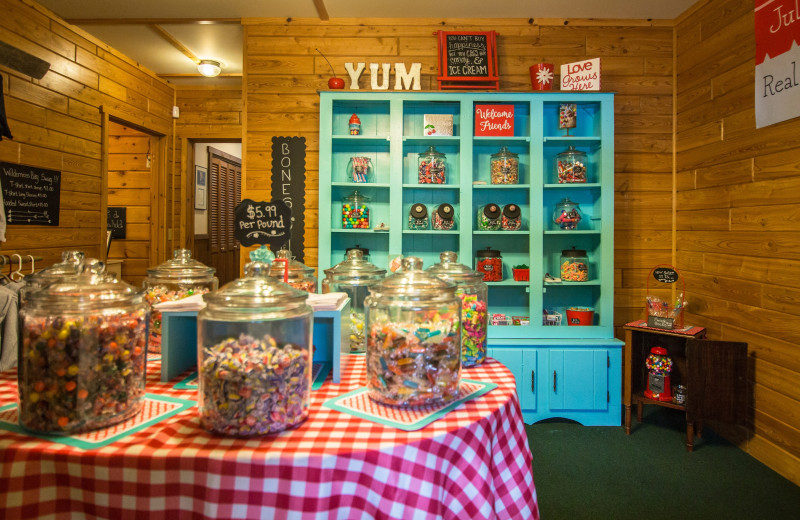 Shop at Wilderness Bay Lodge and Resort.