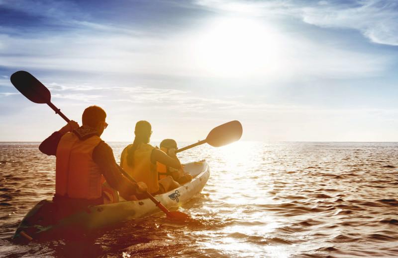 Kayaking at Starkey Properties.