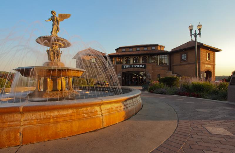 Riviera Ballroom & Fountain near Harbor Shores.