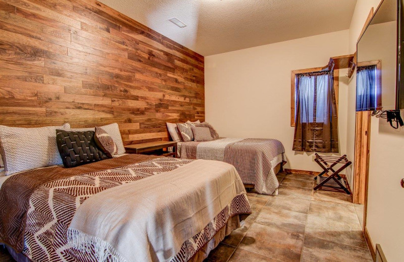 Bedroom at Double P Ranch.