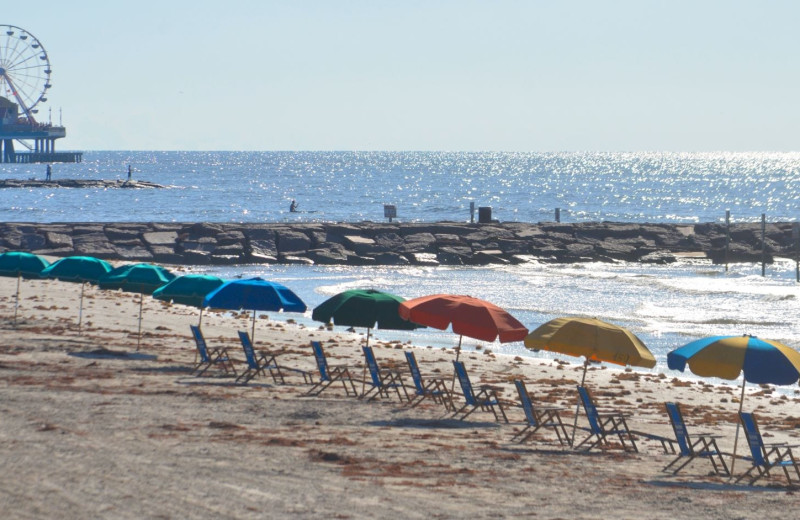Beach at Moody Gardens Hotel Spa & Convention Center.