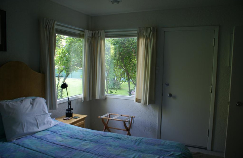 Guest room at A Loon's Nest Bed and Breakfast.