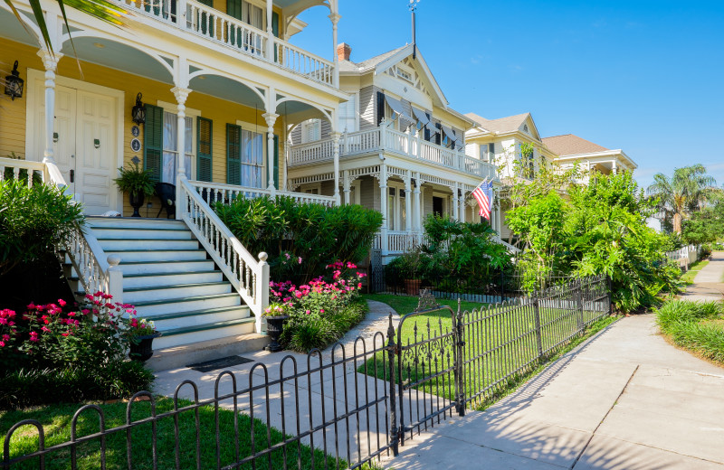 Galveston Island is home to many Historical neighborhoods & even more historical homes. Check out the annual Historic Homes Tour in May.