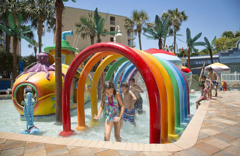 Water park at Coral Beach Resort and Suites.