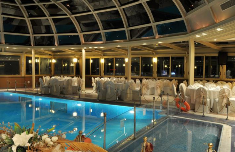 Indoor pool at Etap Altinel Ankara.