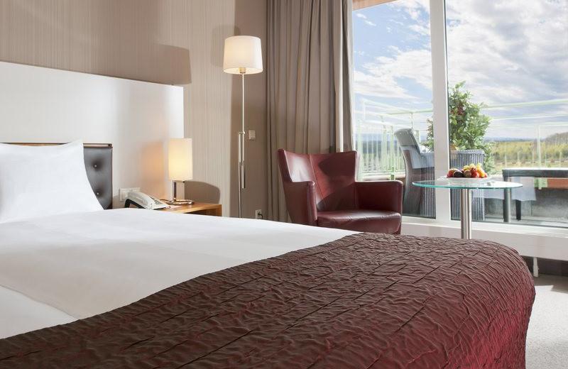 Guest room at Dorint Hotel am Nürburgring.
