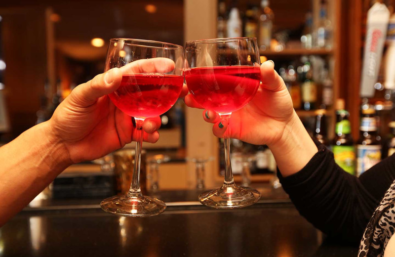 Cheers at Driftwood Shores Resort and Conference Center.