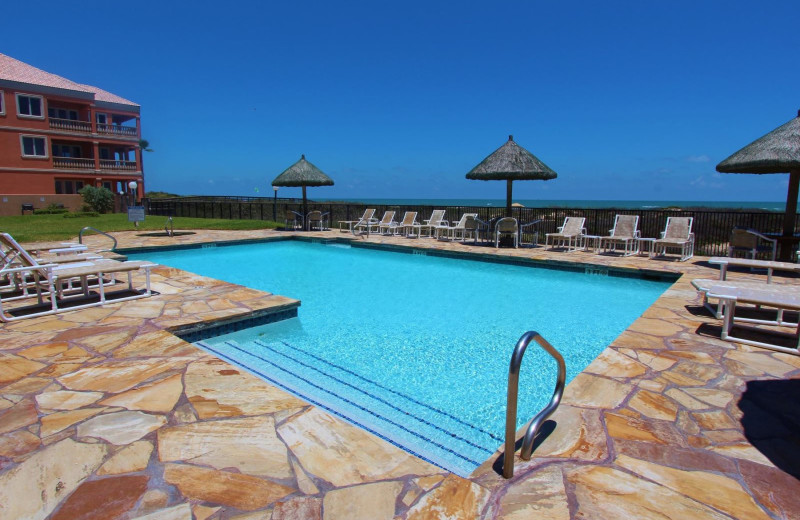 Outdoor pool at Seabreeze I.