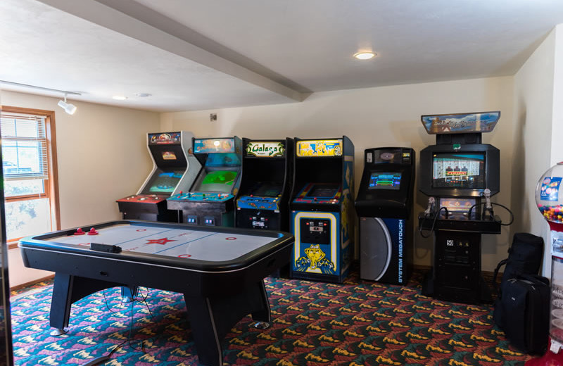 Arcade at Bridgeport Waterfront Resort.