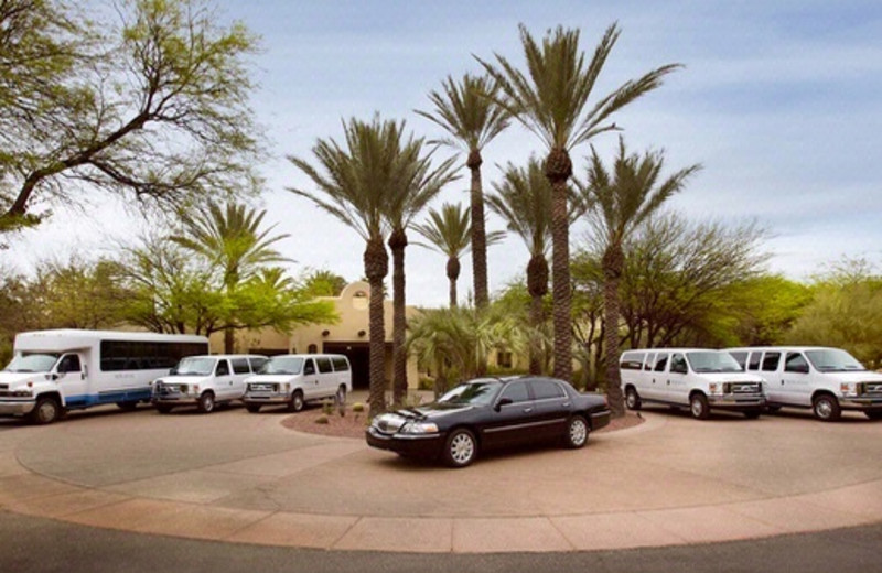 Complimentary Transportation to Airport at Miraval