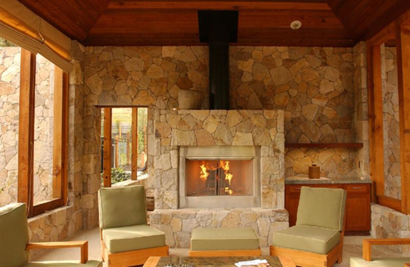 Interior view of Calistoga Ranch.