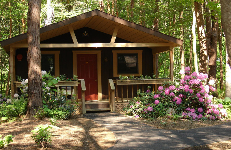 Cabin at Beaver Hollow Conference Center.