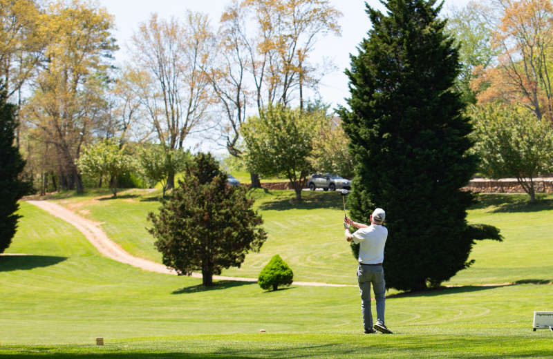 The 18-hole Lake Junaluska Golf Course offers fun and challenge for players of all levels.
