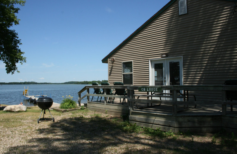 Exterior view of Ten Mile Lake Resort -Otter Tail Country Lakes Tourism.