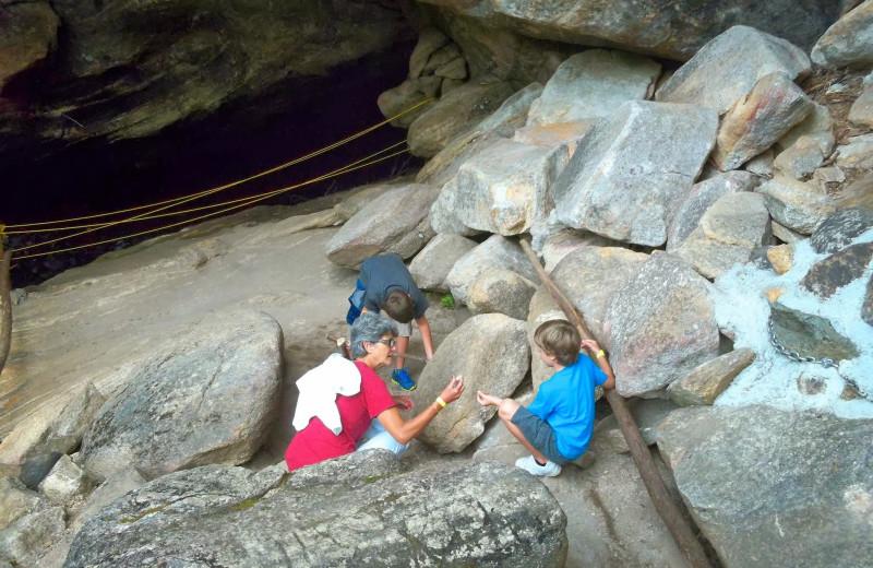 Natural Stone Bridge and Caves near Contessa Resort.