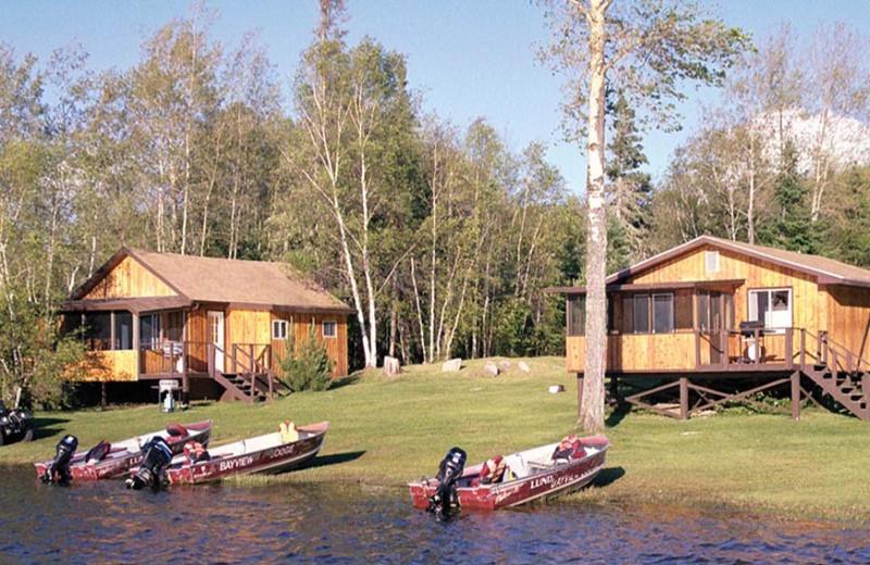 Lakeside Cabins at Bayview Lodge
