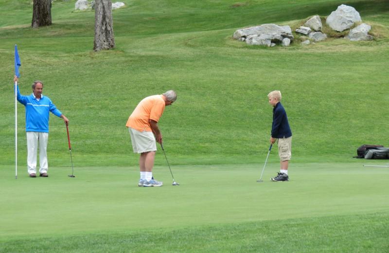 Golf at Stoneridge Resort.
