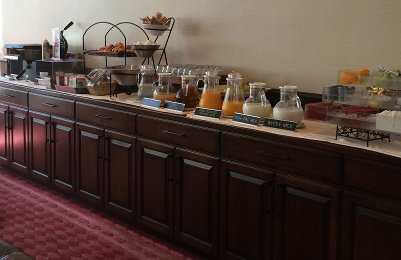 Breakfast at The Grand Hotel.