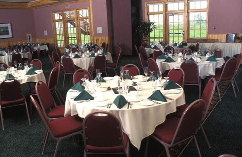 Banquet room at Superior Shores Resort.