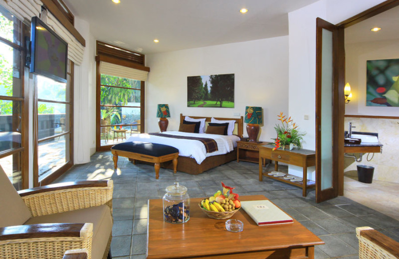 Guest room at Novus Puncak Resort.