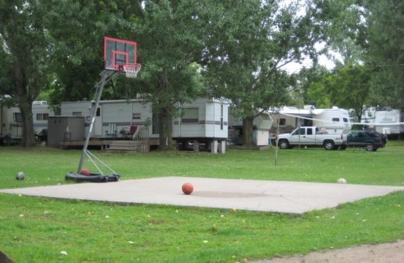 Campground at Bladow Beach Resort & Campground.