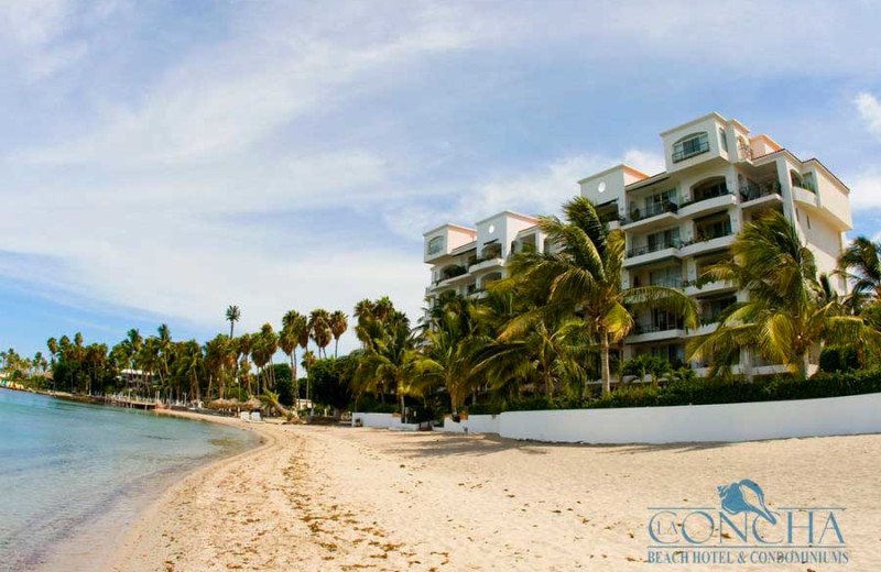 Beach at La Concha Beach Resort.