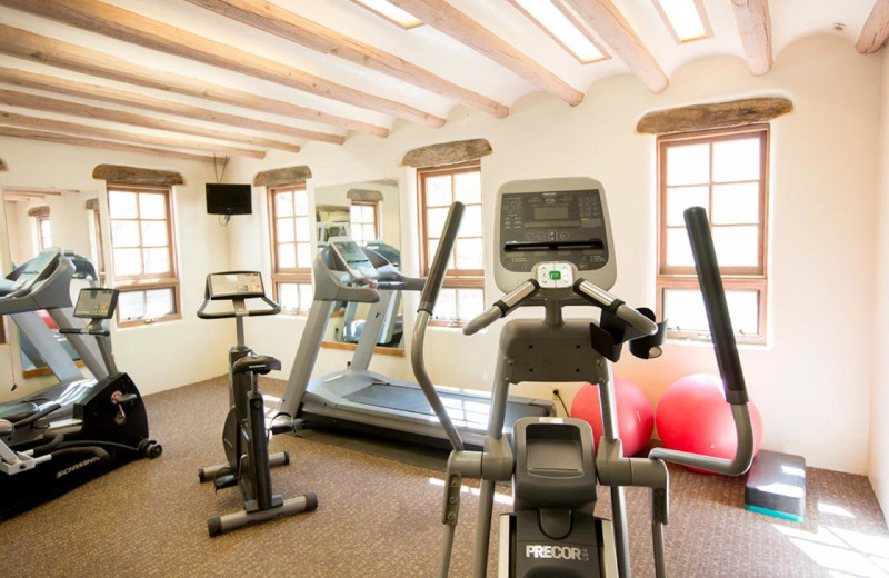 Fitness room at Tanque Verde Ranch.